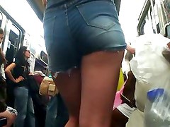 Candid - Asian Ass in Subway