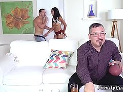 Teen big dick creampie hd and stockings