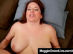 All Natural PornStar Maggie Green does Sperm Clinic Fantasy!
