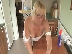 MELISSA MATURE DOWNBLOUSE SHAME. HER TITS ARE OUT OF HER TIGHT DRESS ! 2