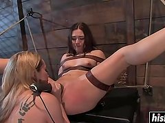 Naughty acts with delicious babes and toys