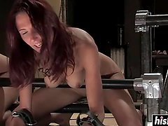 Kinky babes want to get dominated