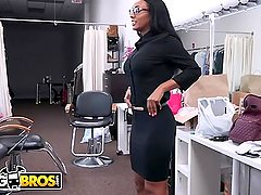 BANGBROS - Behind The Scenes With Ebony Pornstar Arianna Knight