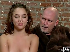 Kristina Rose gets a rock solid cock