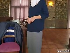 Arab granny xxx Hungry Woman Gets Food and