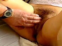 European babes threesome sex