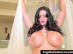Cuban BBW Angelina Castro Gets Pounded By A BBC!