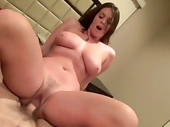 Alison Tyler bounces her pussy on this thick shaft