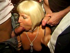 Attend this hot swinger party in the bar