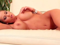 Big tits Madison Ivy solo finger banging
