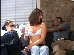 Hardcore Interracial Threesome With The Hot Teen Katarina Campbell