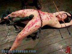 Slutty Babe Gets Covered With Candle Wax In Hot BDSM Scene