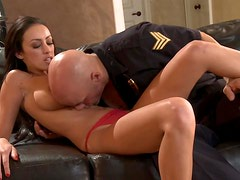 Breanne Benson Loves Her Men In Military Uniforms
