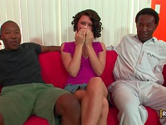 Isabella Amour Gets Her First Taste Of Black Dick