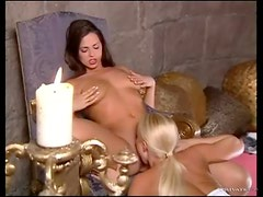 Vigorous pussy eating with sexy women
