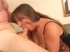 Anally fucked mature slut in corset