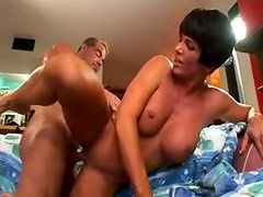 Fit thick mommy fucked in the cunt
