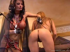 Temperature Rising Femdom Action Between Gorgeous Lesbians