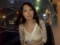 Busty Asian POV Titty Fuck In The Car