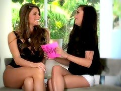Sexy Interview With The Hot Brunettes Madelyn Marie And Michelle Maylene