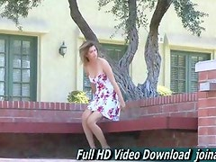 Karina supercute busty girl may be a First Timer for porn