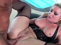 Chubby Flower Tucci anally fucked