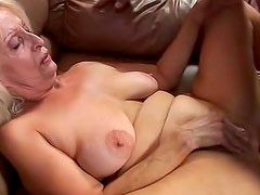 Old and sexy Vikki Vaughn wants her brave macho