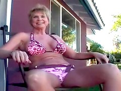 Pierced mature is hot fucking bent over