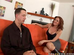 Redhead MILF Morgan Reigns Is In The Need Of a Big Hard Cock