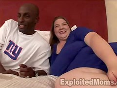 Big Beautiful Blonde Takes A Black Dick Up Her Butthole