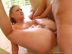 Gorgeous Blonde Babe Flower Tucci Gets One Hell Of An Anal Pounding