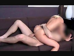 Blonde hotty sucking big fat cock