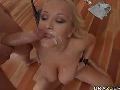 Blonde Babe Jessica Moore Gets A Serious Butthole Penetration