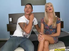 Blonde Babe Erica Fontes Makes Her Tight Ass Bounce On A Big Cock
