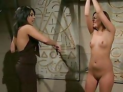 A Dominating Lady Punished By Ma