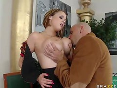 Hardcore Sex With The Big Breasted Croupier Katie Kox
