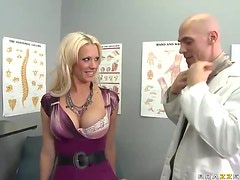 Impostor Doctor Banging The Blonde Bombshell Tanya James