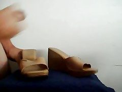 Cum on Friend camel shoes