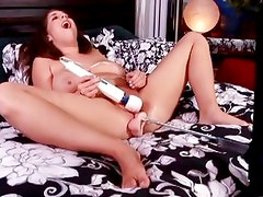 Alex Chance's machine gets her pussy juices flowing
