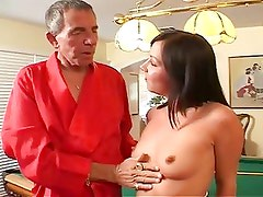Hardcore tattooed guy loves cock plugging in young pussy