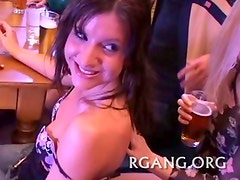 Men and gals on sex party