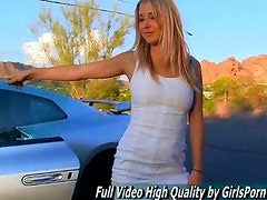Casy amateur horny babe watch free video