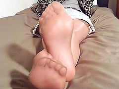 My Dates Smelly Nylonfeet Mature