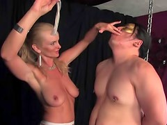 Man in stockings gets to fuck her