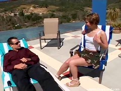 Glorious Hardcore Sex By the Pool