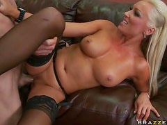 Horny Blonde MILF Diana Doll In Search For a Big Cock To Get Fucked