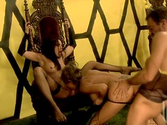 Awesome FFM Threesome With The Bees August And Kirsten Price