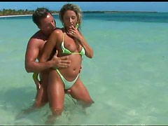 Babe In Bikini Gets Hardcore Anal Sex Outdoors From A Big Cock