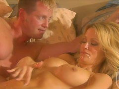 Deepthroat Blowjob And Cum On Tits After Sex For Jessica Drake