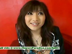 Akari Satsuki innocent lovely chinese girl gets nipples licked and posing